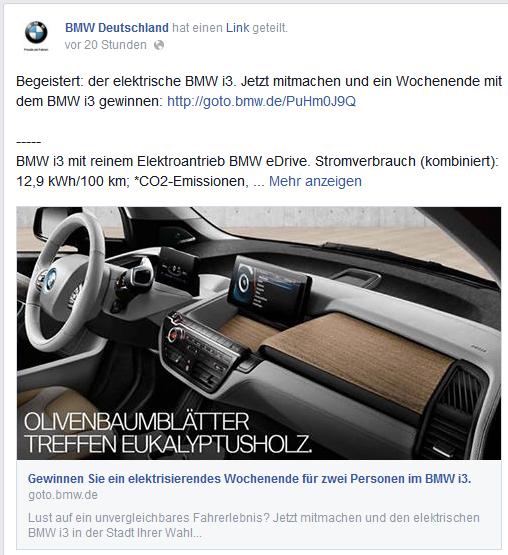 Beitrag BMW Deutschland