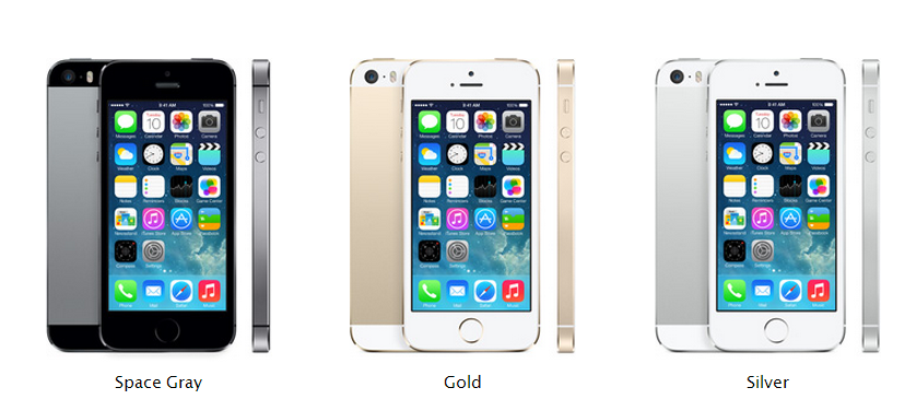 Iphone Space Gray, Gold, Silver