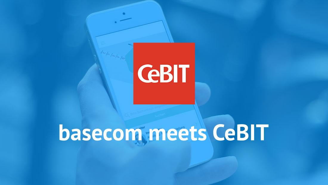 CeBIT basecom meets CeBIT
