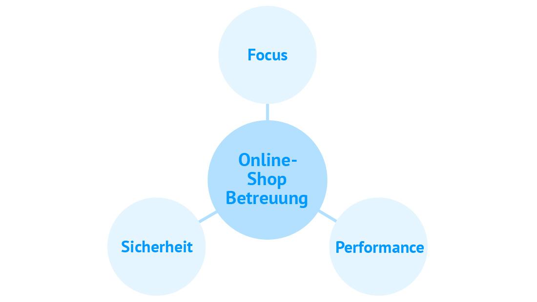Online Shop Betreuung