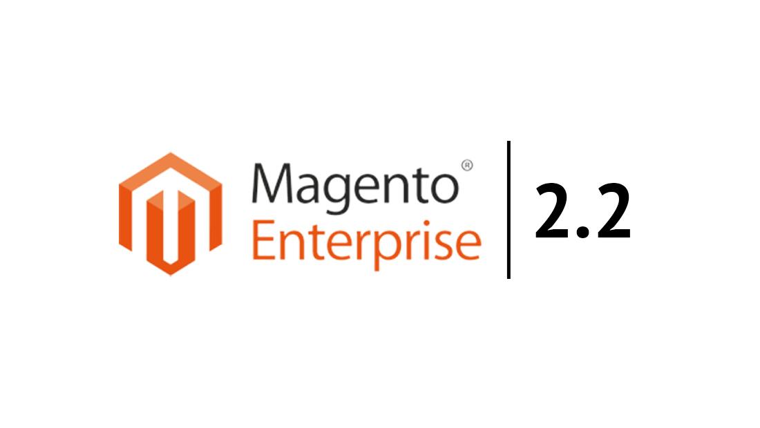 Magento Enterprise 2.2