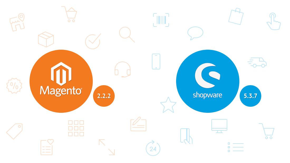 Magento 2.2.2 vs shopware 5.3.7