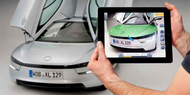Augmented Reality Volkswagen