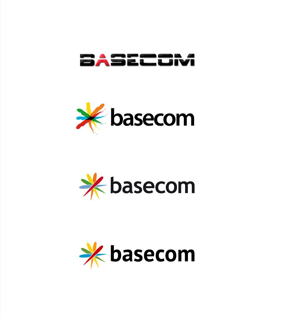 basecom Logo Historie