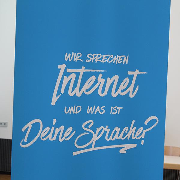 Wir sprechen Internet und was ist deine Sprache?