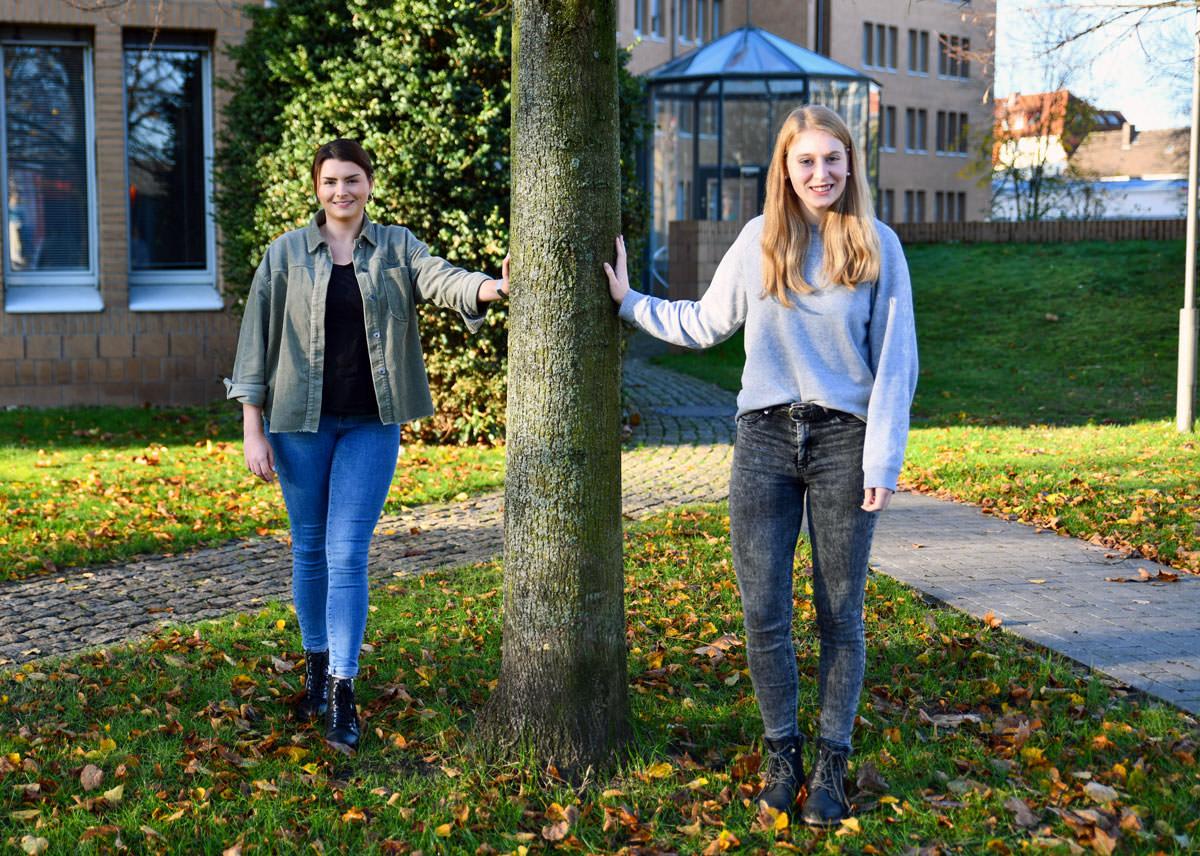 Bianca Krömer und Annika Klassen