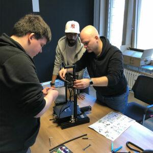 basecom Innovation Days 2019 Drucker Team