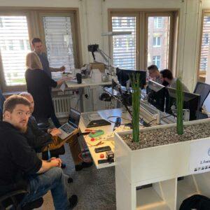 basecom Innovation Days 2019 office Team