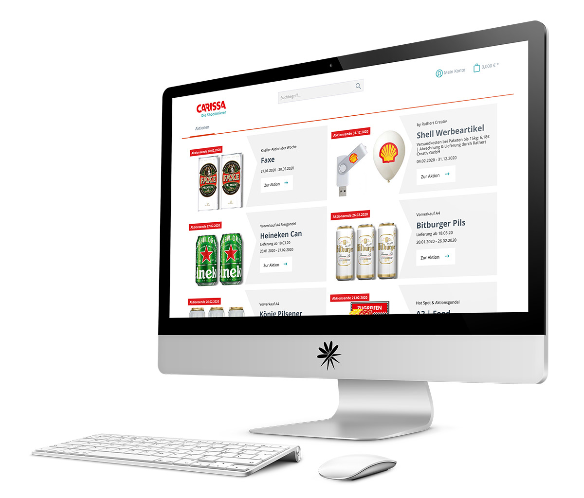 Projekt CARISSA Shopware Enterprise Edition Webshop