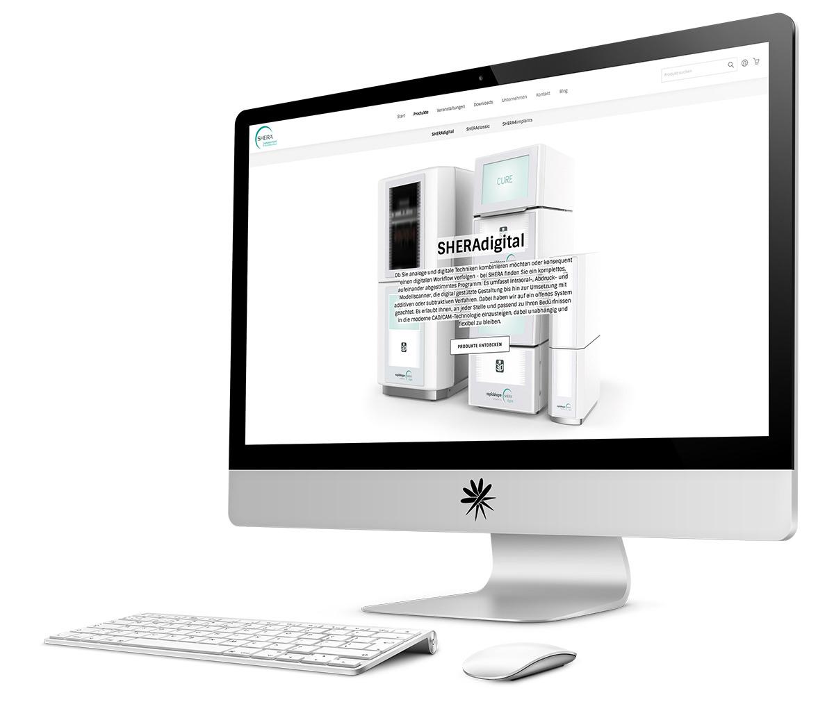 B2B-Webshop SHERA Magento 2